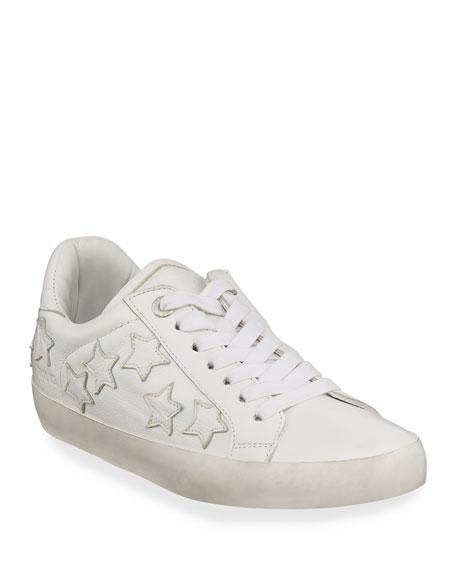 Zadig & Voltaire Zadig Stars Leather Sneakers