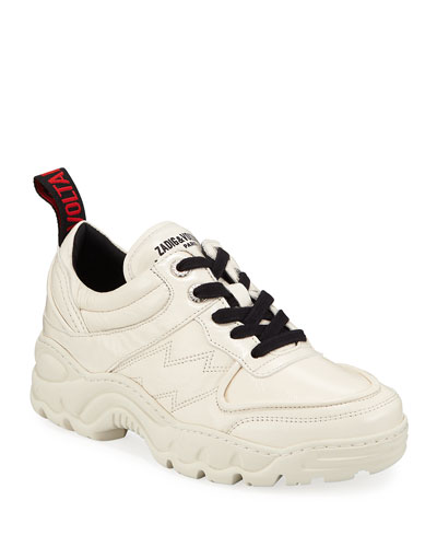 Blaze Leather Dad Sneakers