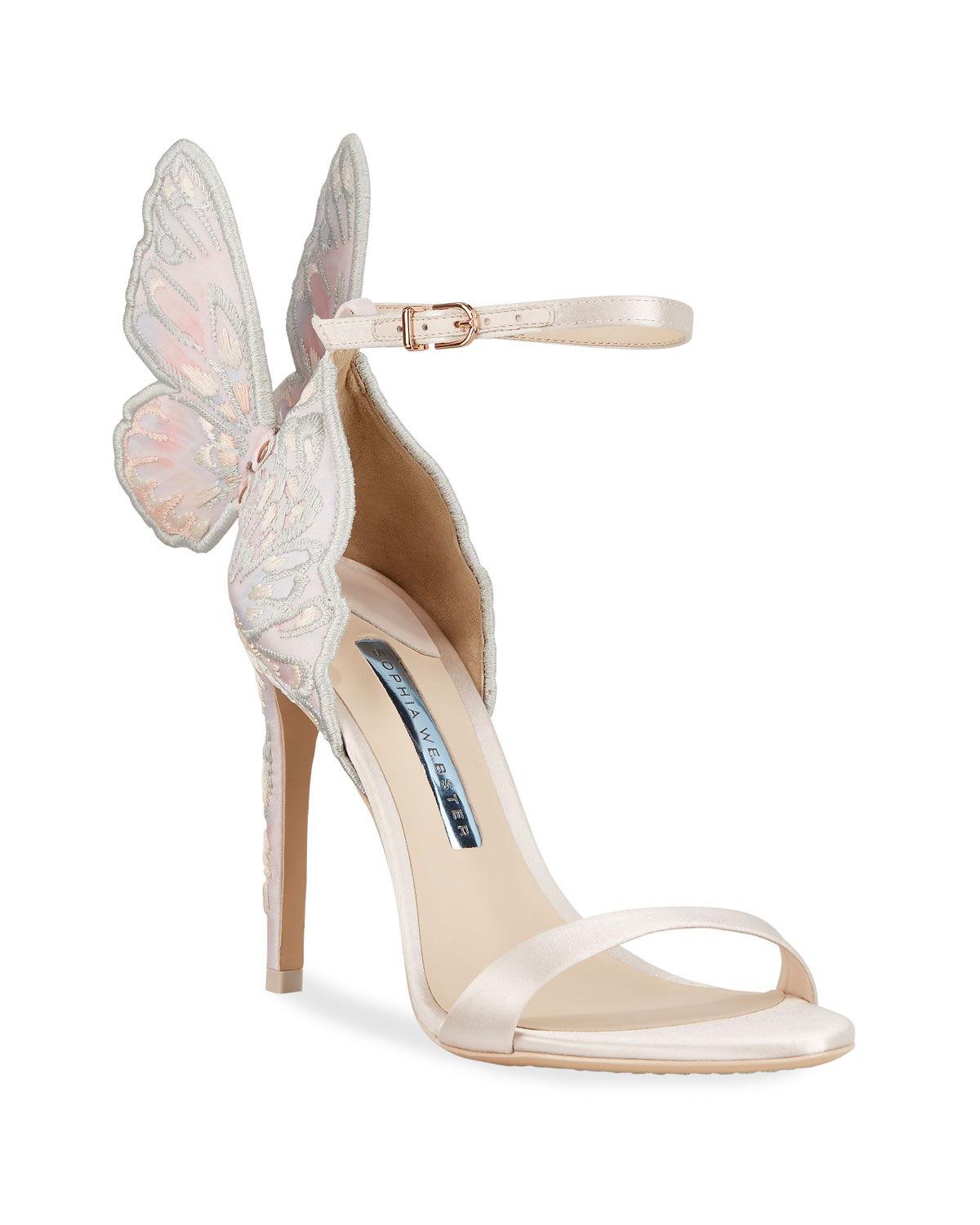 Chiara Butterfly Wing Bridal Sandals