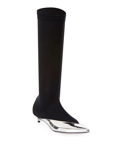 da38f44a0e1 Quick Look. Givenchy · Show Stretch Knee Boots