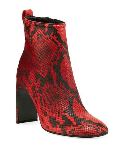 7180160a5365 Quick Look. Rag   Bone · Ellis Snake-Print Leather Booties