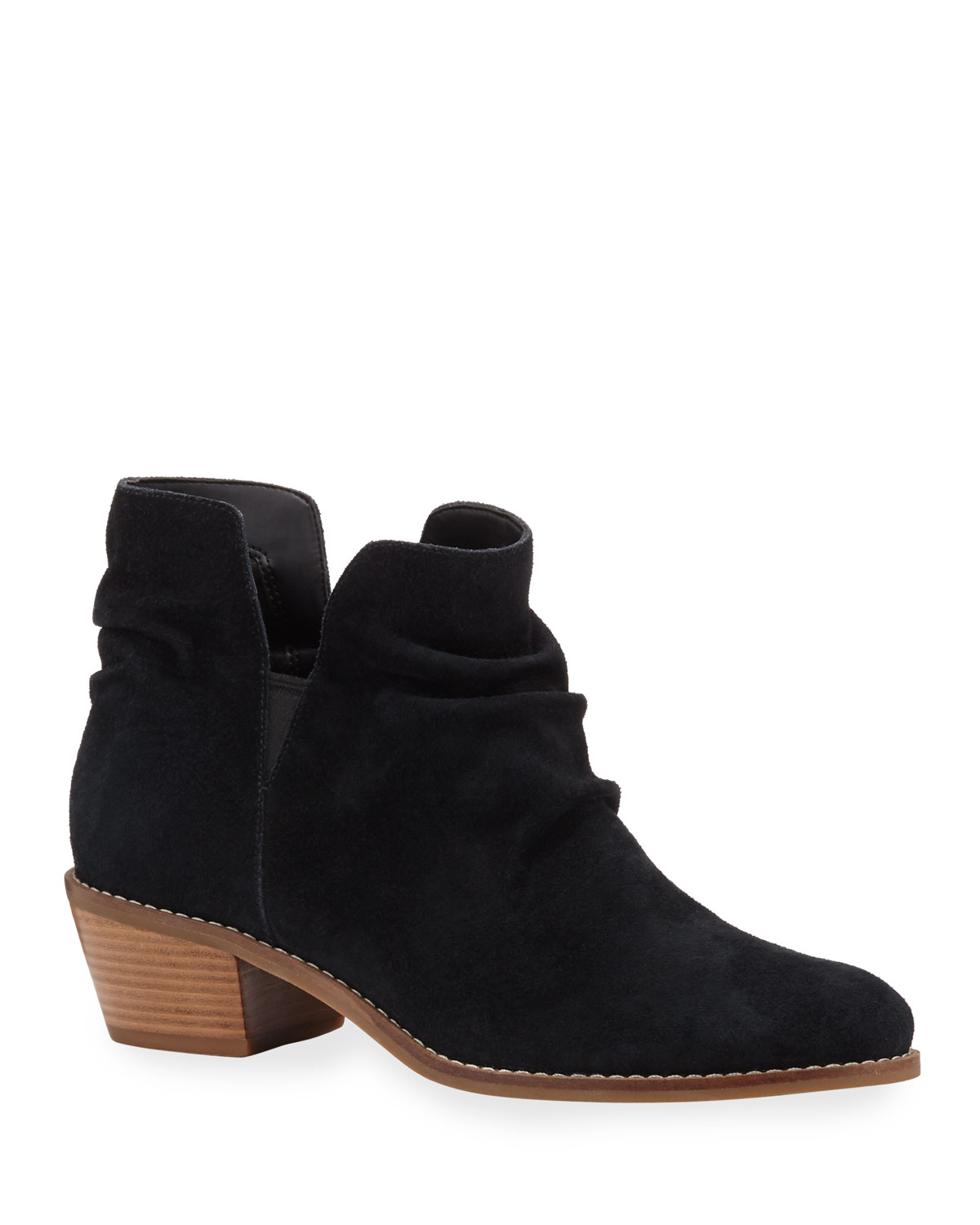Alayna Slouch Suede Booties