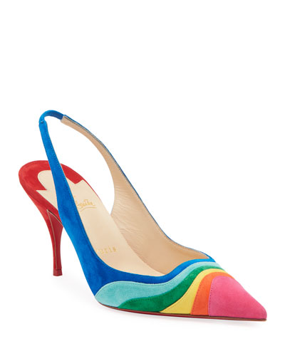 pretty nice abcb5 0c91c Pointed Toe Red Sole Pump | Neiman Marcus
