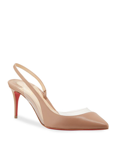 Opti Sexy 70mm Red Sole Pumps
