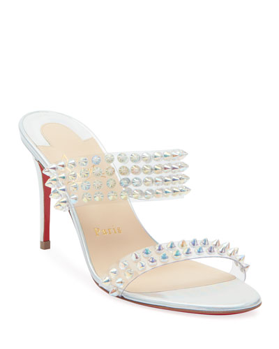 Spikes Only 85 Red Sole Slide Sandals