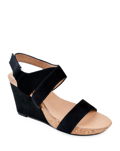 ac6a1b3e97c Quick Look. Bettye Muller Concept · Trent Suede Wedge Sandals