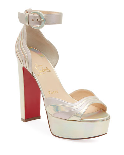 Degratissimo Platform Red Sole Sandals