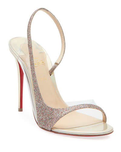 newest 53ab9 174e6 Glitter Louboutin Shoes | Neiman Marcus