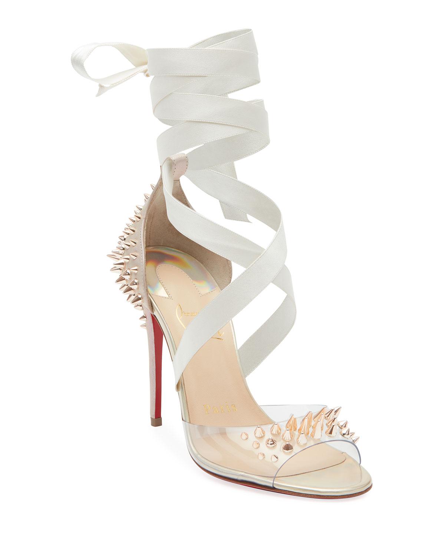 Barbarissima Red Sole Sandals