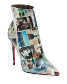 Christian Louboutin So Kate Collage Patent Red Sole