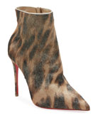 Christian Louboutin So Kate Hair Red Sole Booties