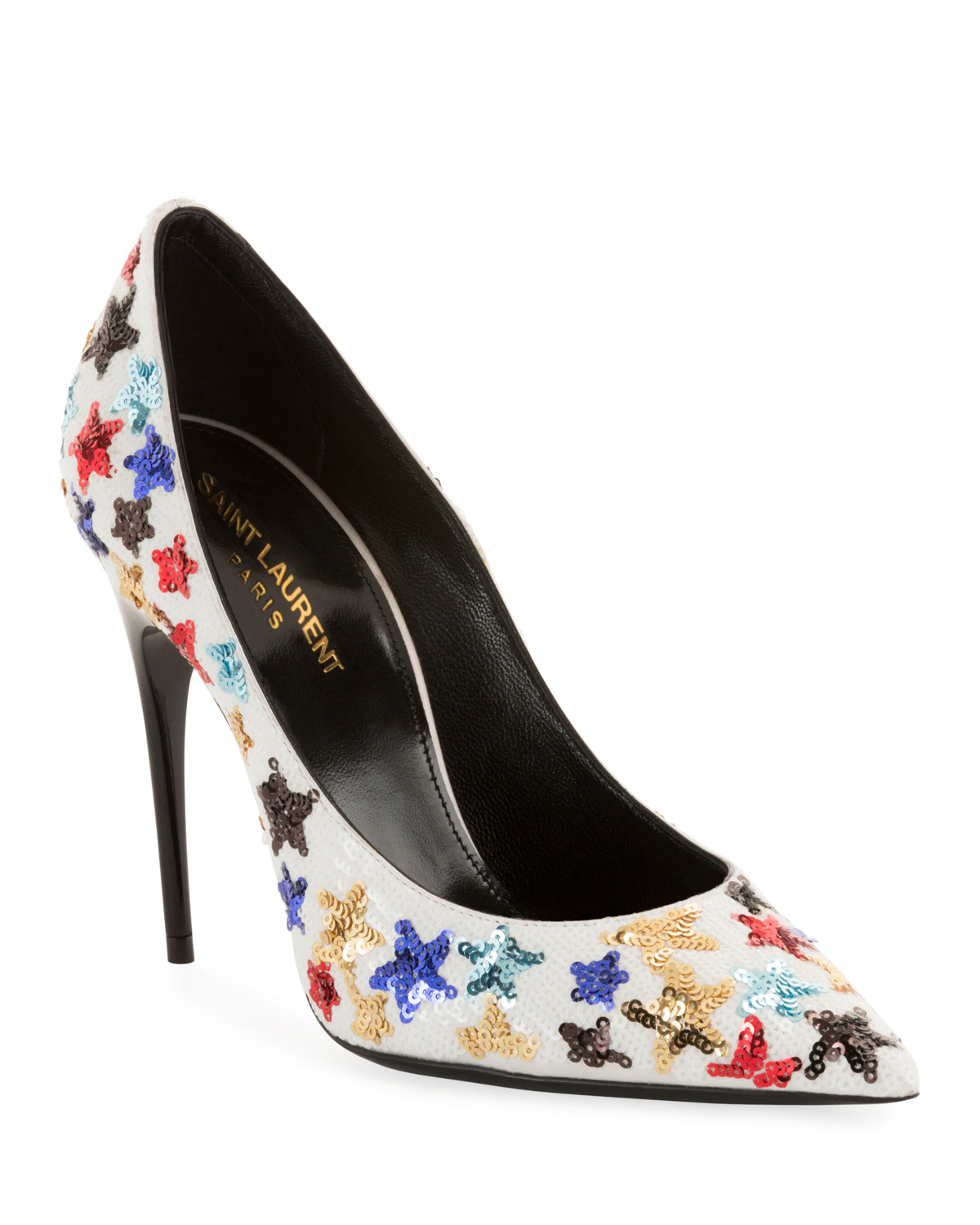 Palace Star Sequined High-Heel Pumps