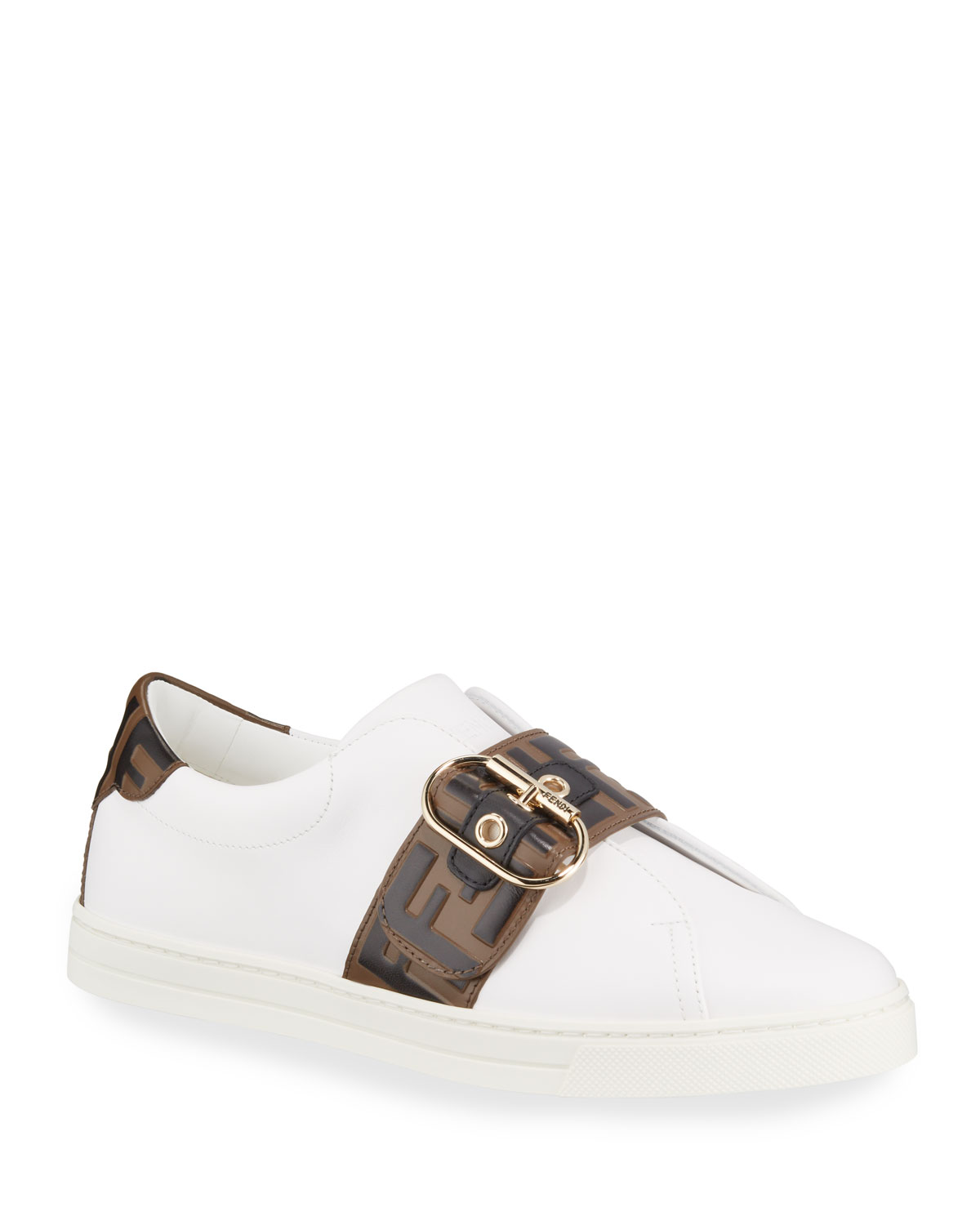 Pearland Leather Low-Top Sneakers