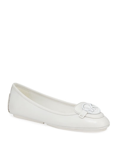 Lillie Leather Moc Driver Flats