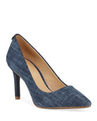 MICHAEL Michael Kors Dorothy Flex Denim Pumps