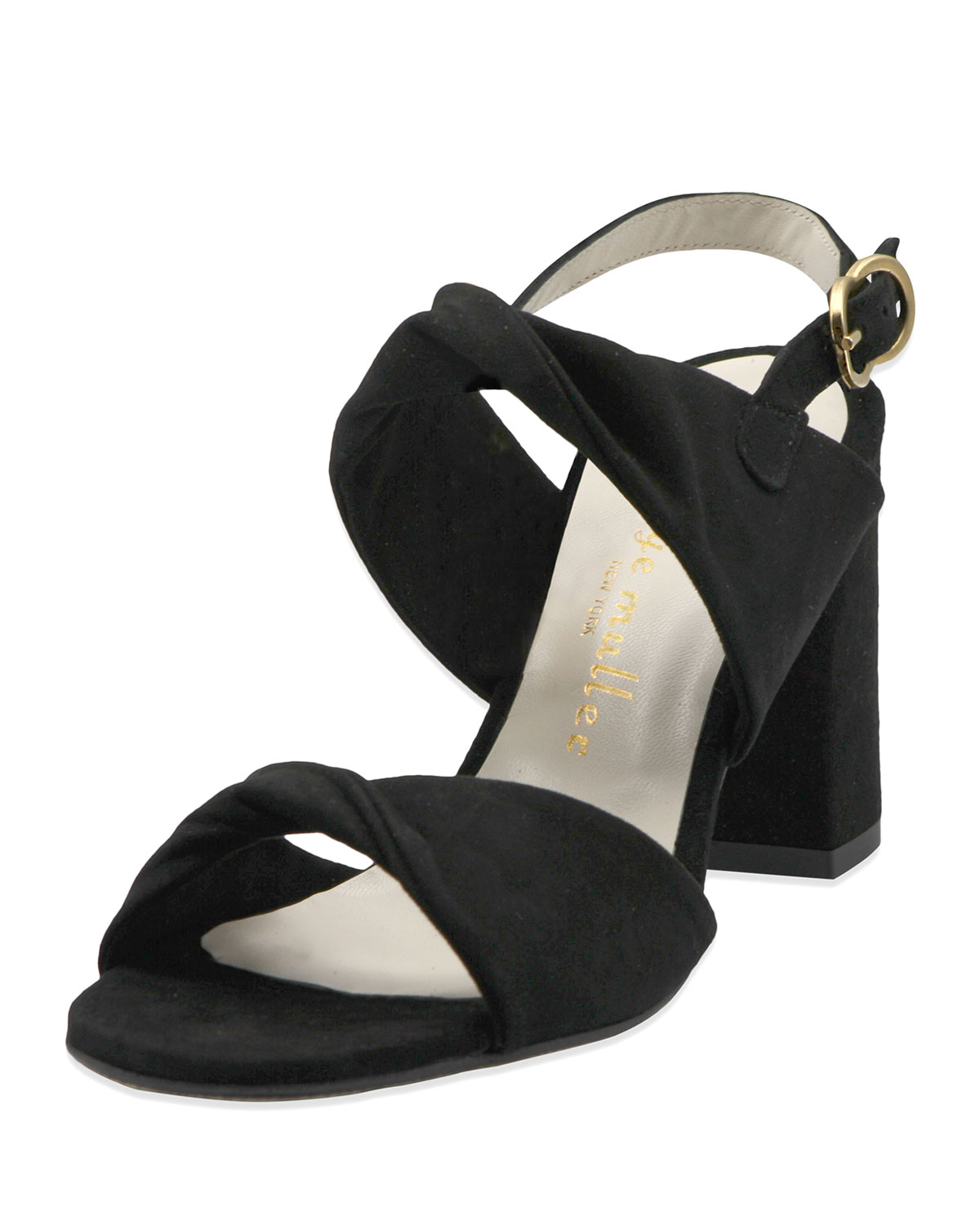 Angel Suede Twisted Sandals
