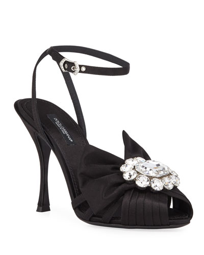 3af294dfbc Black Satin Shoes | Neiman Marcus