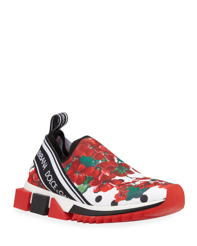 Geranio Sorrento Stretch Sneakers