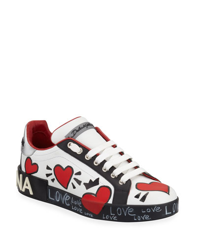 Portofino Graffiti Sneakers