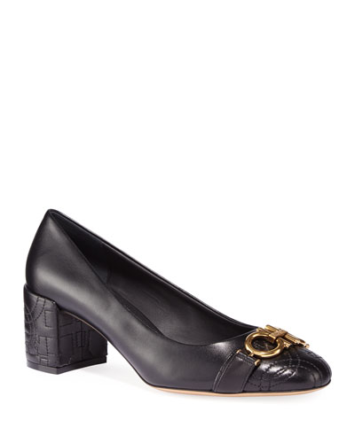 Garda QT Gancio-Quilted Pumps
