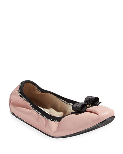 My Joy Bow Ballet Flats