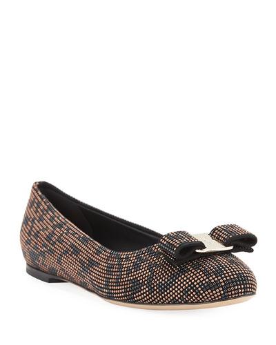 Varina Mosaic Leopard Ballet Flats