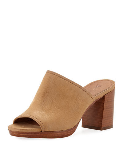 Blake Leather Mule Sandals