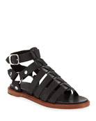 Frye Andora Leather Gladiator Sandals