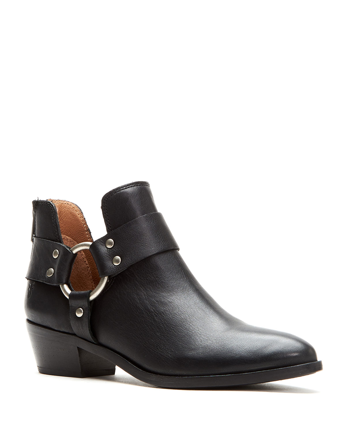 Ray Leather Harness Booties