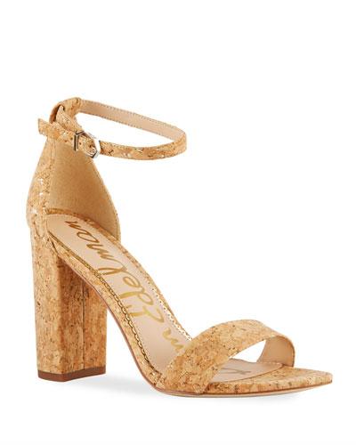 Yaro High-Heel Cork Sandals