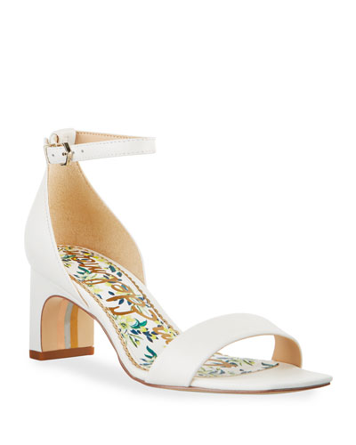 Holmes Leather Ankle-Strap Sandals