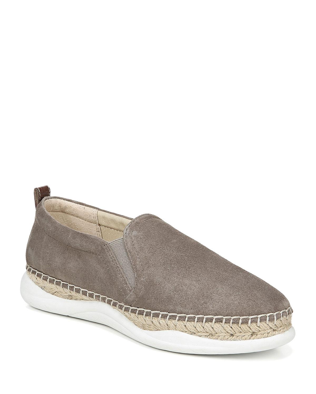 Kassie Slip-On Suede Espadrille Sneakers