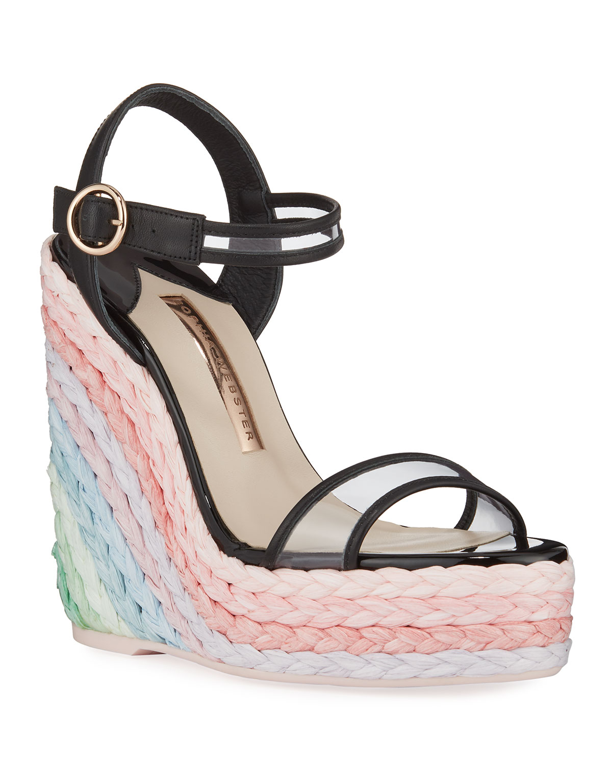 Sophia Webster Wedges LUCITA PASTEL WEDGE ESPADRILLES