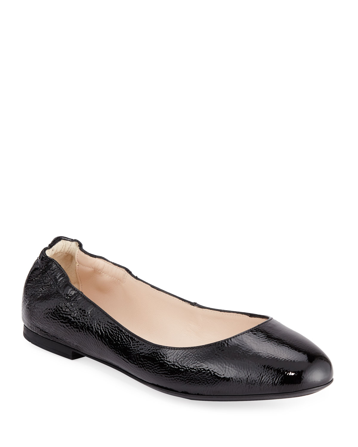 Ackley Patent Leather Ballet Flats