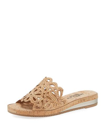 Senta Cutout Cork Comfort Sandals
