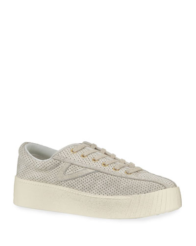 Nylite Bold Suede Platform Sneakers