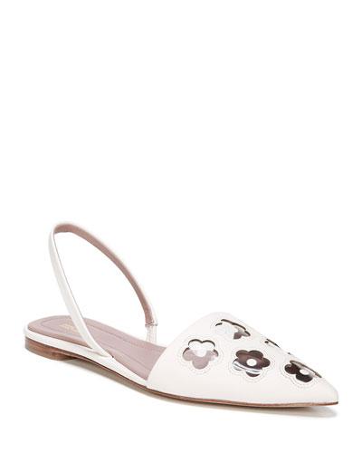 a1859892c31a Leather Flower Sandal
