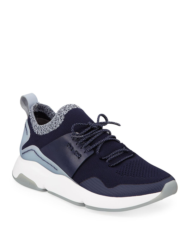 Zerogrand Motion Stretch-Knit Sneakers