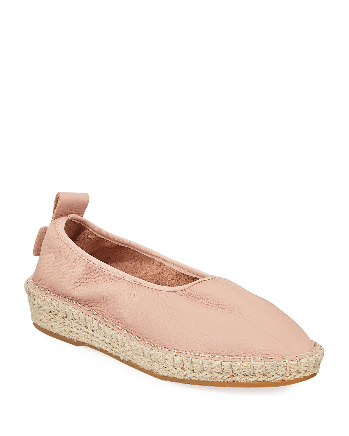 Cloudfeel Leather Espadrille Sneakers