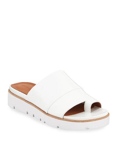 Lavern Easy Patent Slide Sandals