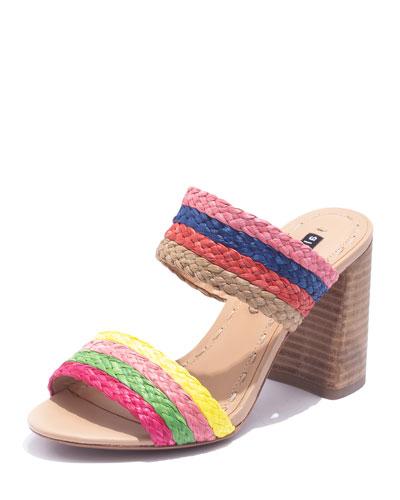 Leeda Rainbow Slide Sandals