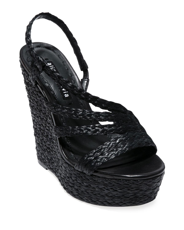 Tenley Strappy Wedge Sandals