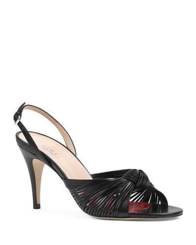 Crawford Leather Slingback Sandals