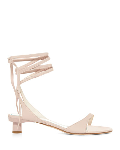 e934c5fbfb52 Quick Look. Tibi · Scott Ankle-Tie Leather Sandals