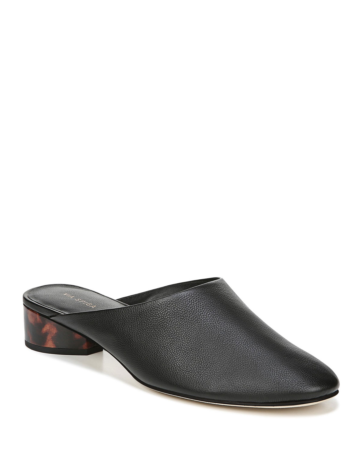 Chaney Round-Toe Mule