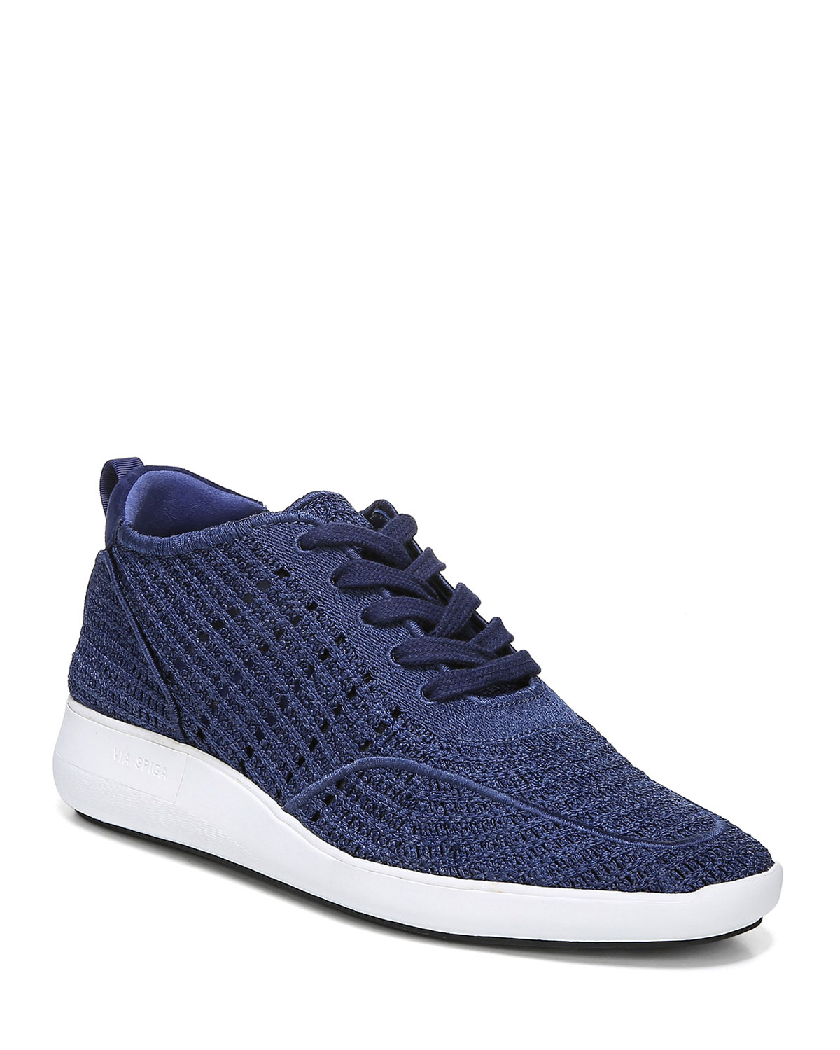 Macra Woven Lace-Up Sneakers
