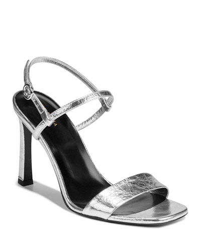Ren Shiny Leather Sandals