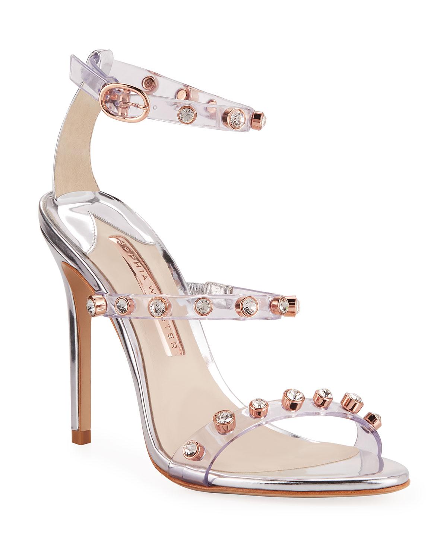 Rosalind Gem Leather Sandals