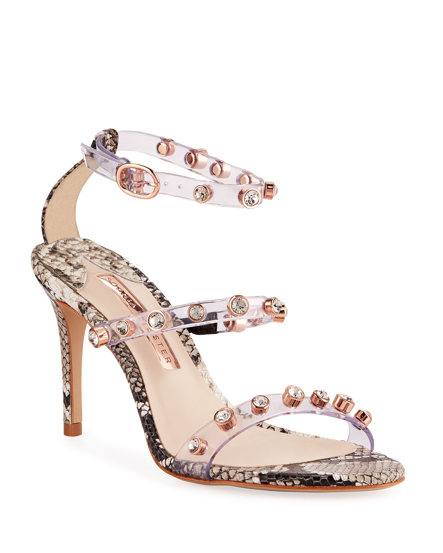 Rosalind Python-Print Sandals