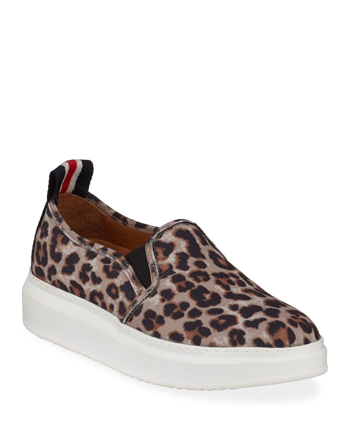 Westley Leopard Slip-On Sneakers